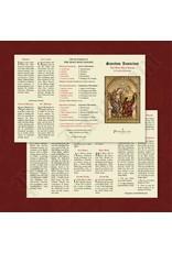 PrayLatin Latin-English Rosary Pamphlet