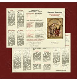 PrayLatin Latin-English Rosary Pamphlet
