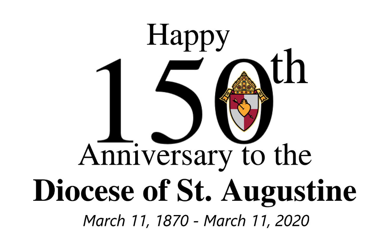 150th. Anniversary of the Diocese of St. Augustine