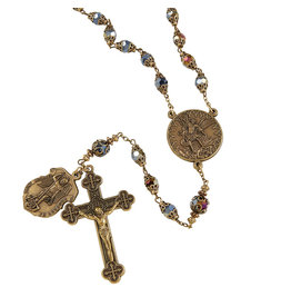 Christian Brands Creed Saint Michael Vintage Rosary