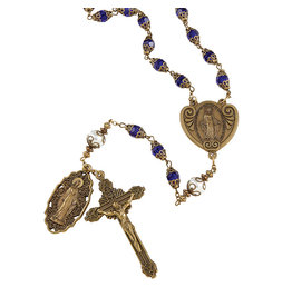 Christian Brands Creed Miraculous Vintage Rosary