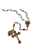 Christian Brands Creed Our Lady Of Guadalupe Vintage Rosary