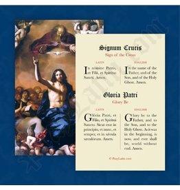 PrayLatin Sign of the Cross & Glory Be (Latin)