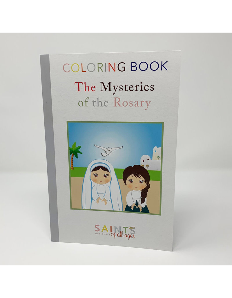 Meyer Market Designs Mysteries of the Rosary Coloring Book