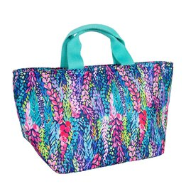 Mary Square The Lunch Break Tote Wisteria Waves