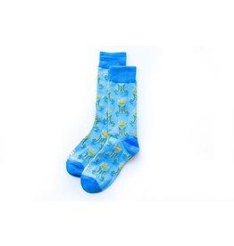 Sock Religious Marian Monogram Kids Socks