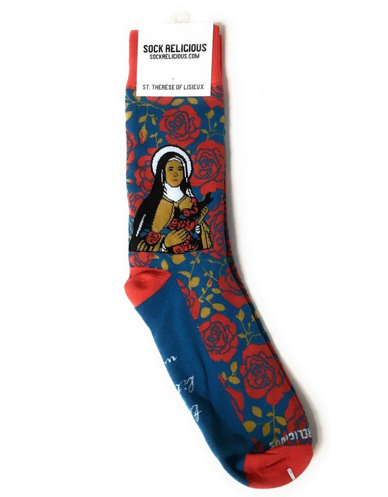 Sock Religious Sock Religious Socks St. Thérèse of Lisieux