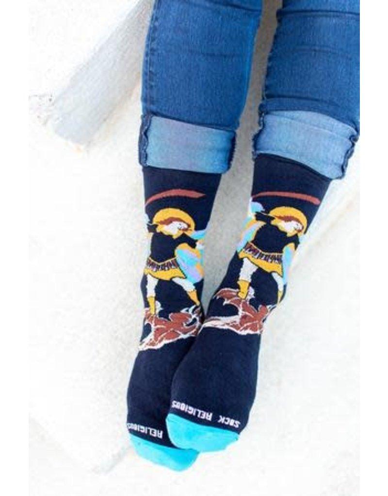Sock Religious Sock Religious Socks St. Michael
