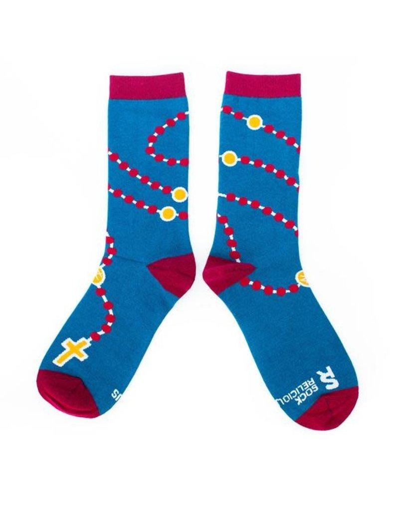 Sock Religious Sock Religious Socks Rosary