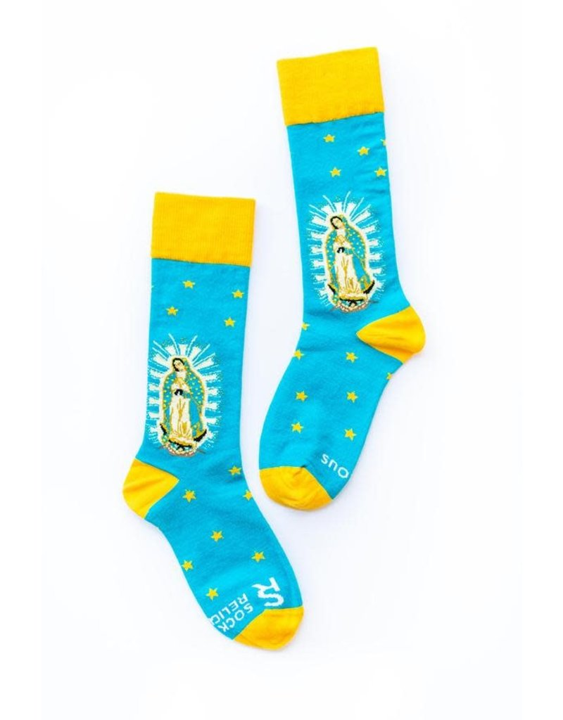 Sock Religious Sock Religious Socks Our Lady of Guadalupe