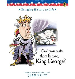 Puffin Books Can't You Make Them Behave, King George?