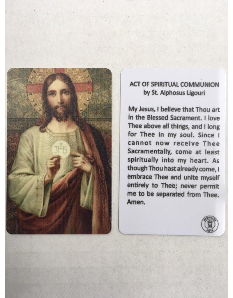 Memorare Gifts Act of Spiritual Communion