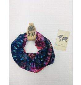 Faire Headband-Headwrap-face shield, Colorful Aztec