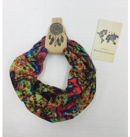 Faire Headband-Headwrap-face shield, Playfully Colorful