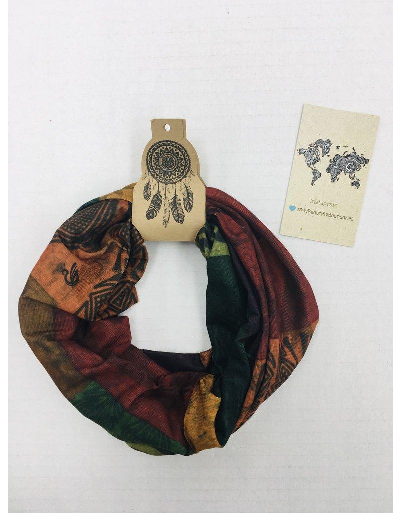 Faire Headband-Headwrap-face shield, Natural Earthtone