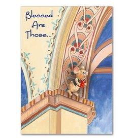 The Printery House Benny the Church Mouse Birthday Card Column