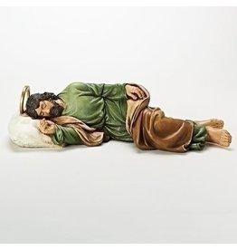 "Roman, Inc 22.5"" Sleeping Saint Joseph Statue"