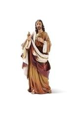 "Roman, Inc 6.25"" Sacred Heart of Jesus Statue"