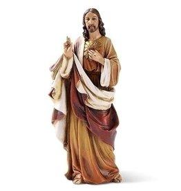"St Joseph's Studio from Roman 6.25"" Sacred Heart of Jesus Statue"