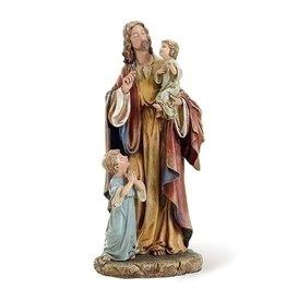 Roman, Inc 10' Jesus with Children statue
