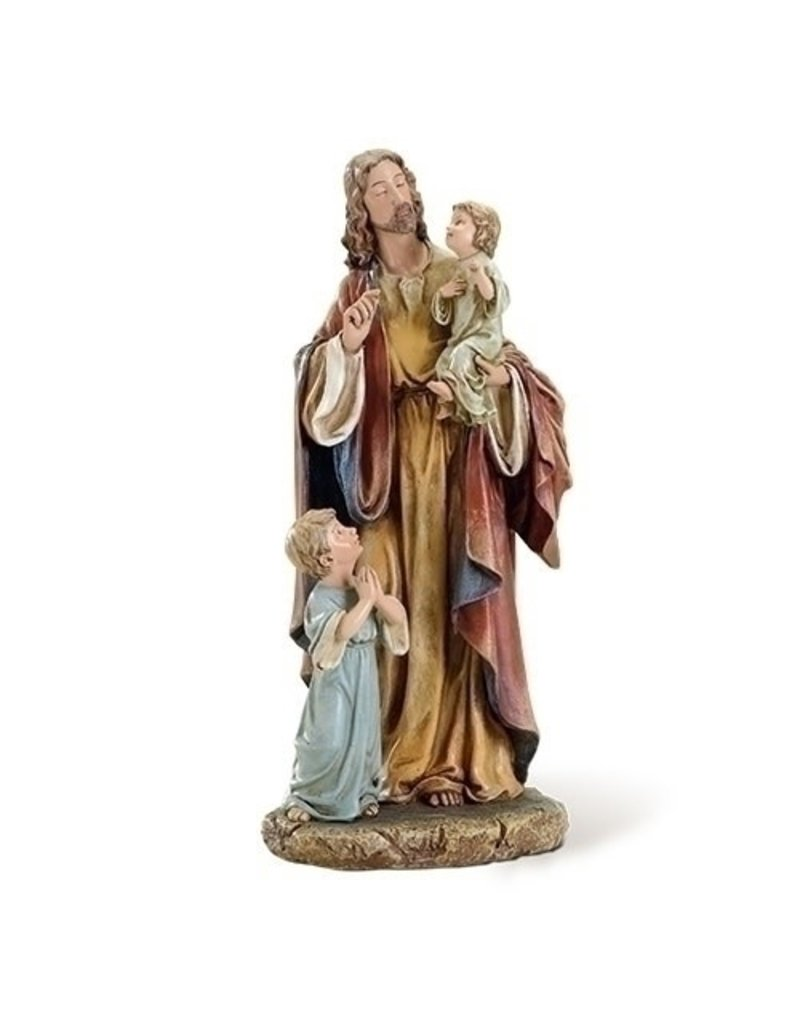 Roman, Inc 10' Jesus with Children statue