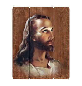 Christian Brands Wood Pallet Sign - Head Of Christ
