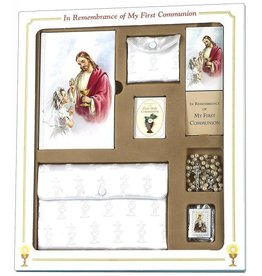 Catholic Book Publishing Corp My First Mass Book Premier Gift Set (Sacred Heart Edition)-Girls