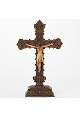 "Roman, Inc 14.5"" Standing Crucifix"