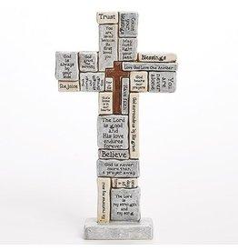 "Roman, Inc Table Cross-Crossword (12.5"")"