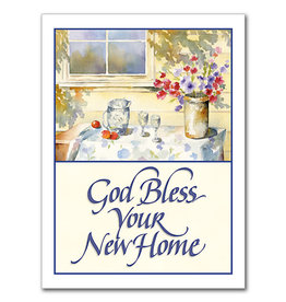 The Printery House God Bless Your New Home New Home Card
