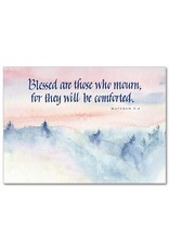 The Printery House Blessed are those who mourn Sympathy Card