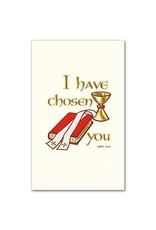 The Printery House I Have Chosen You Ordination Souvenir Holy Card