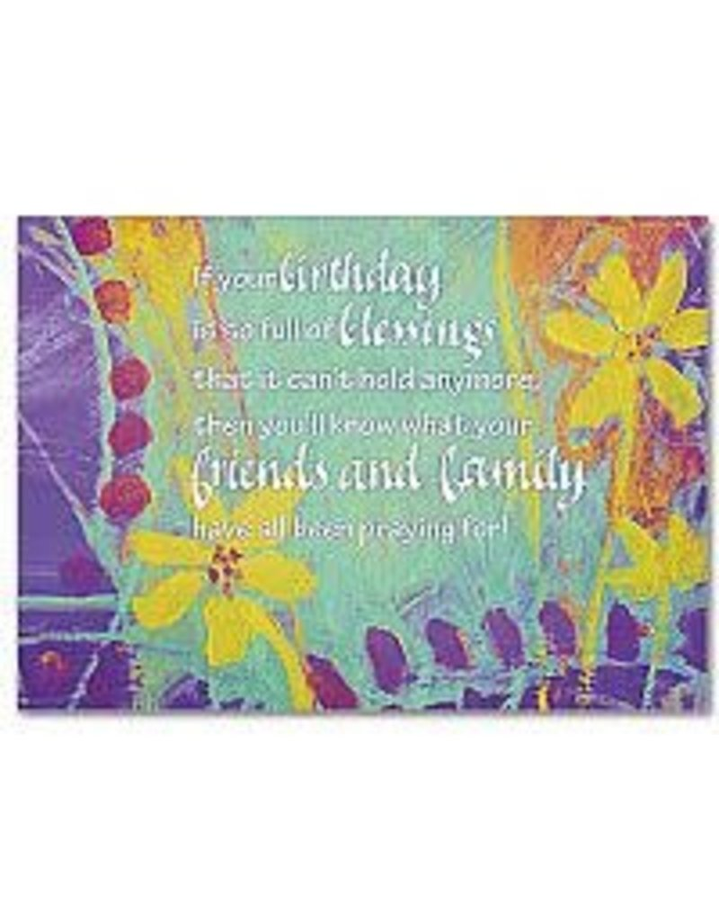 The Printery House If Your Birthday Is Full of Blessings Birthday Card