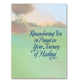 The Printery House Remembering You in Prayer Continued Sympathy Card