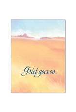 The Printery House Grief Goes On Continued Sympathy Card