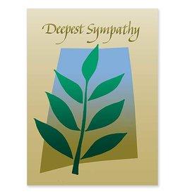 The Printery House Deepest Sympathy Sympathy Card