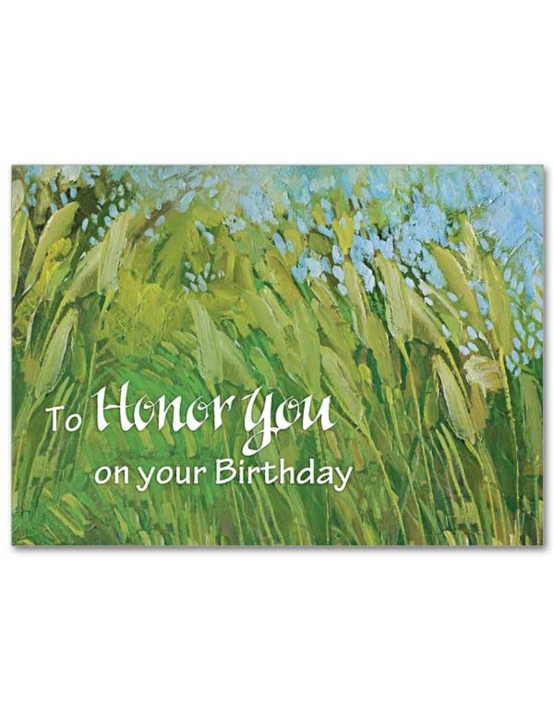 The Printery House To Honor You on Your Birthday Birthday Card