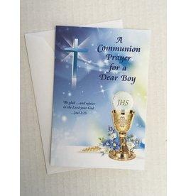 alfred mainzer A Communion Prayer for a Dear Boy