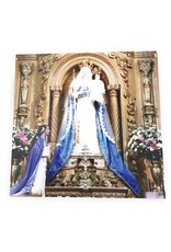 "Memorare Gifts Our Lady of Buen Suceso othe Purification 8"" by 8"" print on wood"