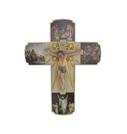 "Joseph's Studio Roman 12"" Joseph's Studio Life of Christ Religious Crucifix Wall Cross"
