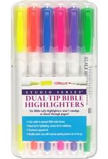 Peter Pauper Press Bible Dual-Tip Highlighters (6-piece Set)