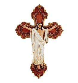 "James Brennan Risen Christ 10"" Cross"