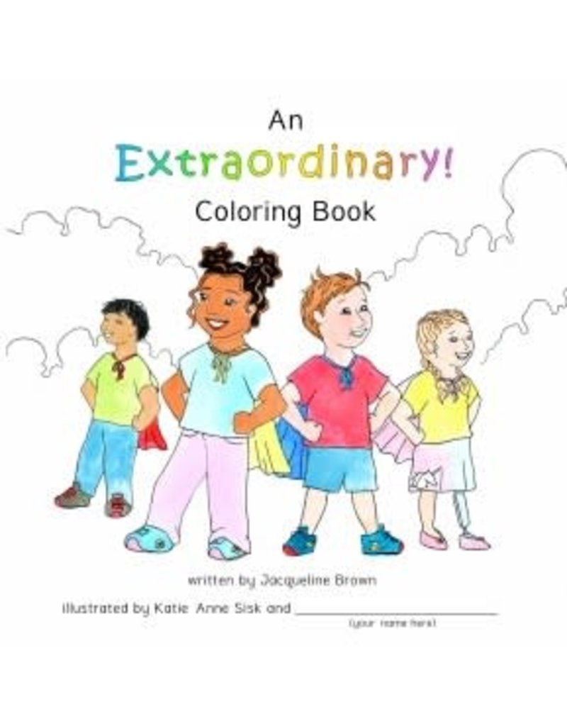 Jacqueline Brown An Extaordinary Coloring Book