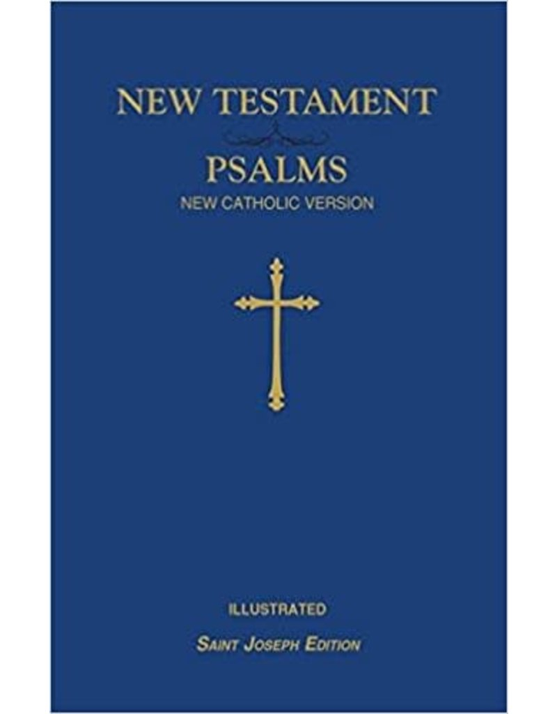 St. Joseph New Catholic Version New Testament and Psalms (Blue)