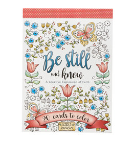 Coloring Cards-Be Still and Know