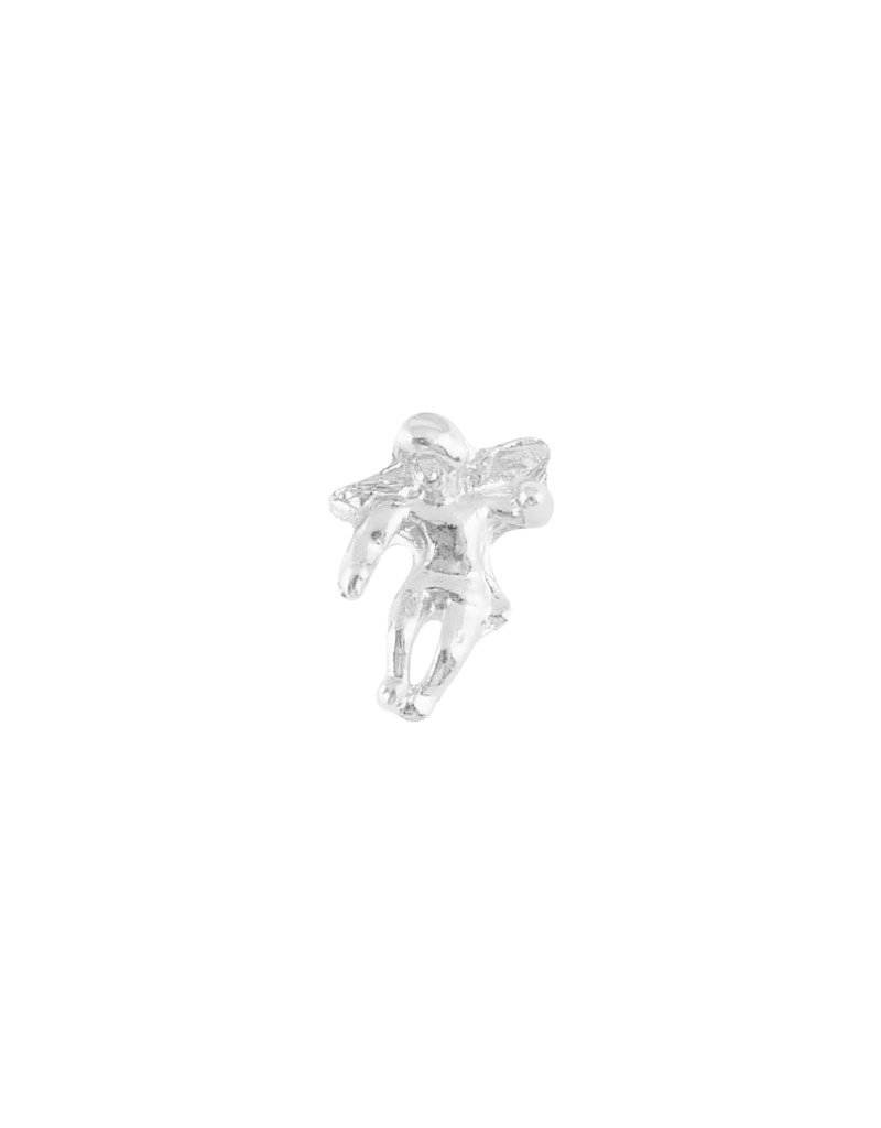 Wallace Brothers Manufacturing Silver Angel Lapel Pin