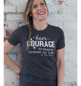 Pio Prints Have Courage, St. Teresa of Avila, Tank (Large)