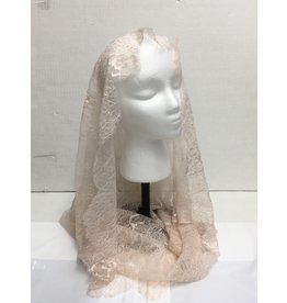 St. Stephen's Spanish Mantilla Veil Infinity Francisca Nude
