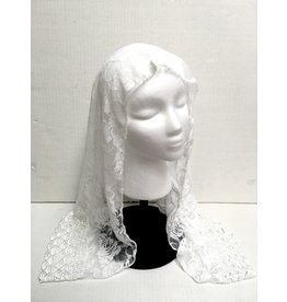 Oremus Mercy Madonna Church Veil White