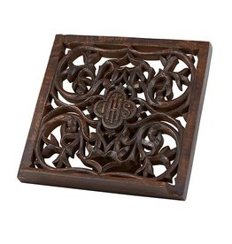 Christians Brand IHS Carved Bible Stand